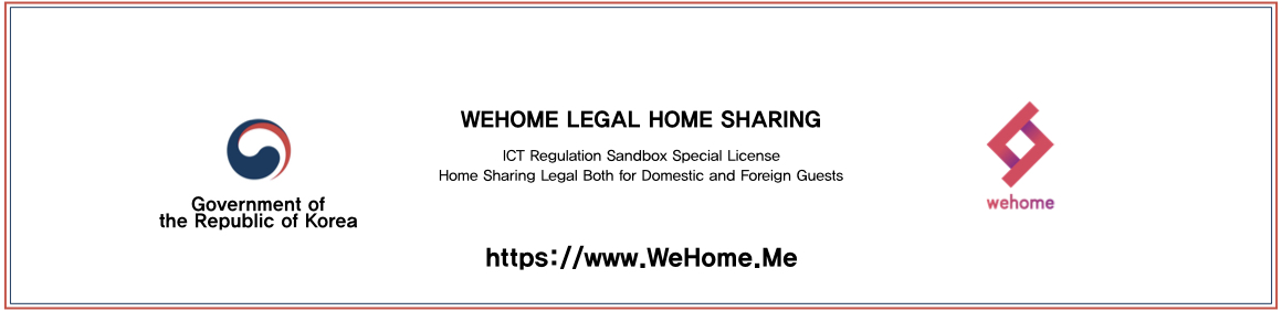 WeHome, Legal Home Sharing of Korea