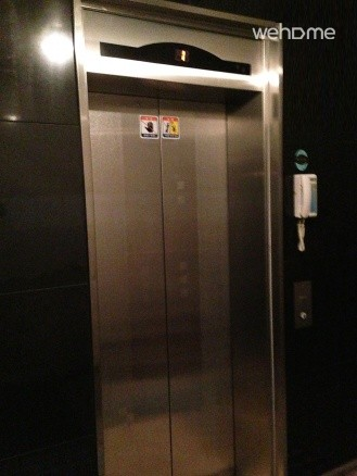 Elevator in the building