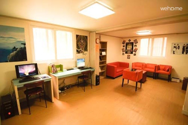 Guesthouse in Hongdae: 6 Bed Mixed Dormitory