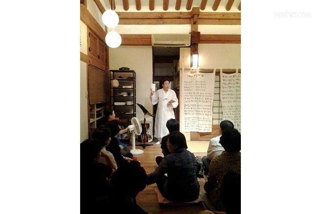 한옥마을 한가운데 위치한 한옥체험관 삼도헌 : 안채 2인실