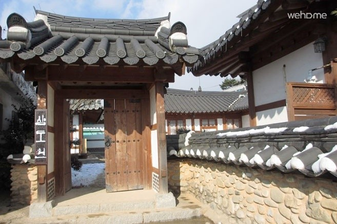 Samdoheon (located in Jeonju Hanok Village) : Sarangchae for 6 persons