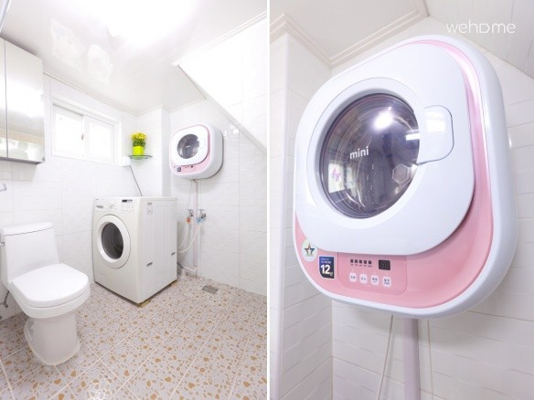 - Free Drum Washing Machine with Detergent (Share in Main Laundry Room 3rd Floor)