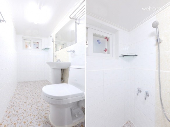 - Toilet (Free Soap, Shampoo, Hair Conditioner & clean towels)