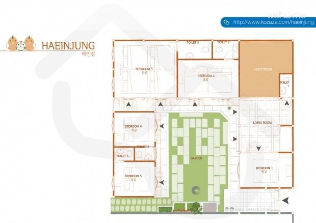 [Bukchon] Boutique Hanok Hotel Haeinjung: Blue Room