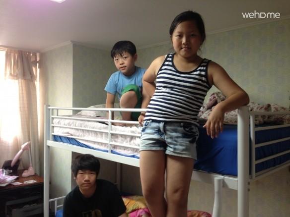 龍仁市ジュクジョンドンに位置するアパートの部屋