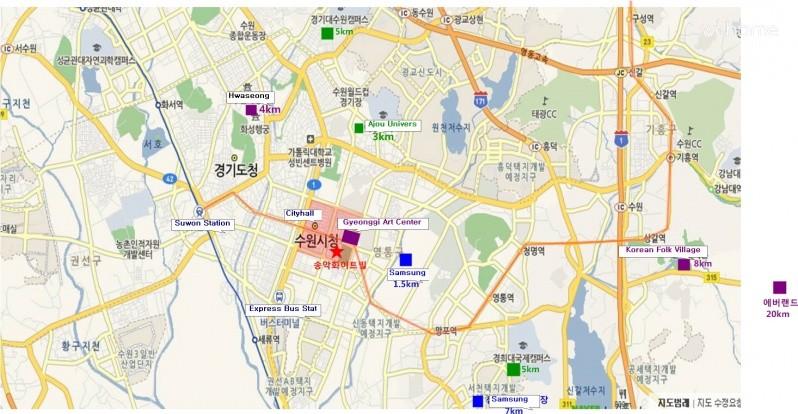 [Suwon] Lovely & Sweet Studio In Suwon .. Standard ParkView / CityView