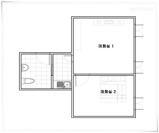 Danchon Chungbuk vow old house - the scholar debt (haengrangchae) Plum Room