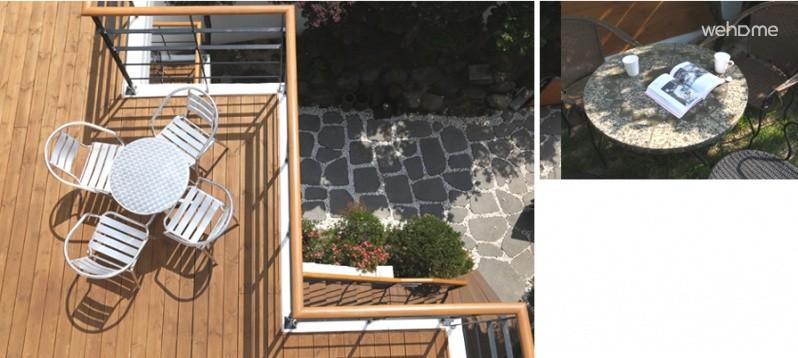 景福宮駅の花と木がよく手入れされた美しい庭園がある家。 4人部屋