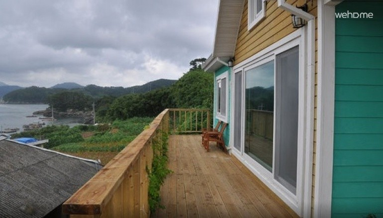 Clean home located on a small island near Tongyeong