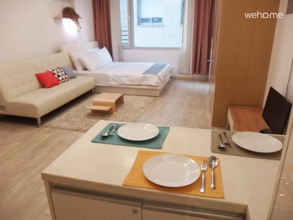 ★Spacious Studio in Gangnam (1 Double Bed)