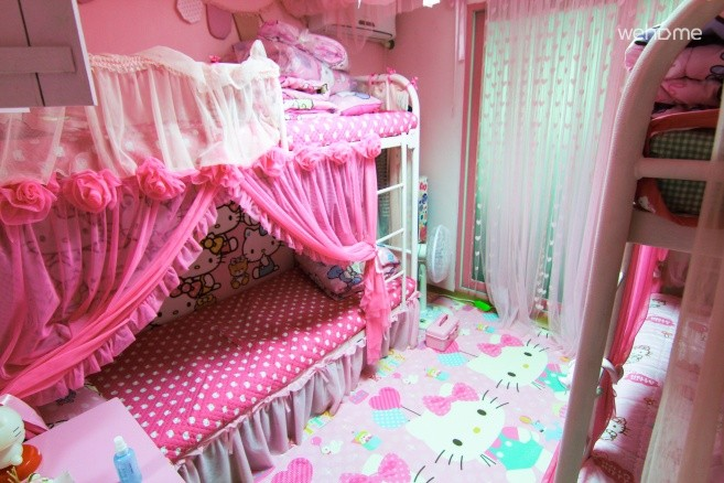 Hongdae Pink guesthouse  4bed (woman only (