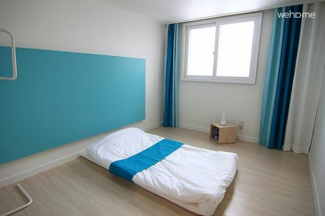 Women-only] Itaewon Hills Guest House - Blue Room