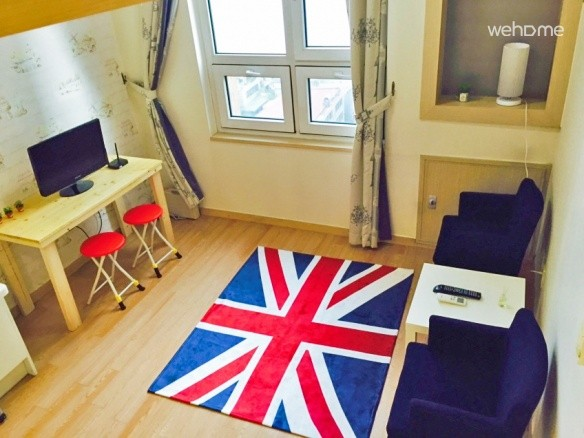 Entire Studio #5 in Gangnam (2 Double Bed)