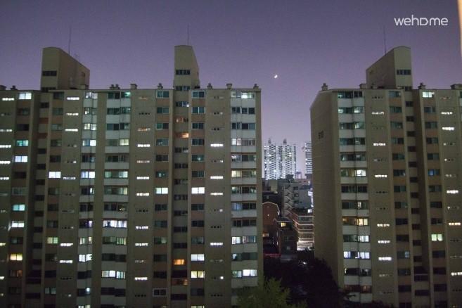 Hongik University, Hangang, Dangsan apartment near Seoul, Double