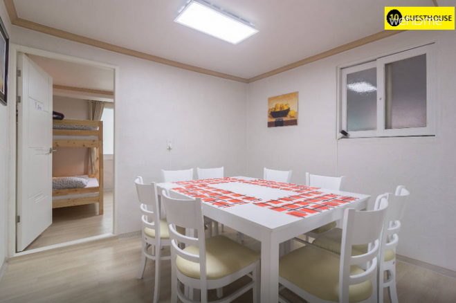 2 connected rooms (up to 6 persons)- 10 Guesthouse