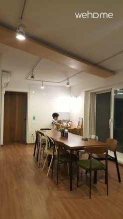 (NEW OPEN-6 FEMALE DORM)Let's have fun in rooftop!
