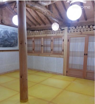Jeonjucheon of streams, Jeonju Hanok 'swing pole' _ 2 room main house