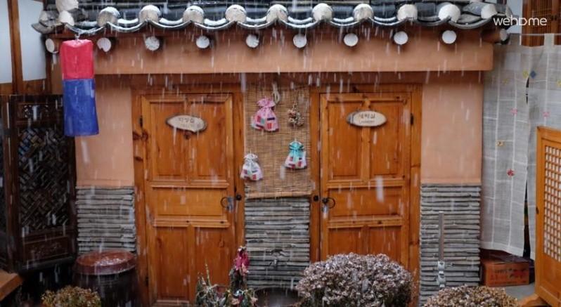 Hamill hanok located between Changdeokgung Palace and Jongmyo wind _