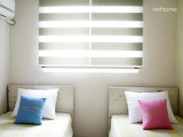Twin room _ Wow Hills Guest House(Hongdae)