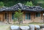 Tu Village octagonal pavilion