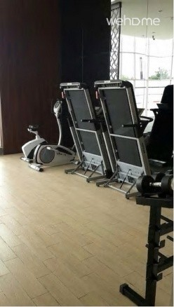 Fitness room is available as well.