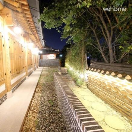 Jeonju Hanok Village Traditional Hanok Love Tree