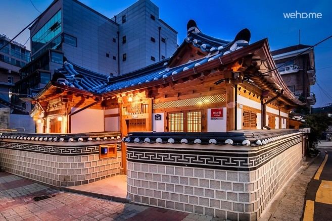 Private Korean Traditional House (Hanok), IHWA