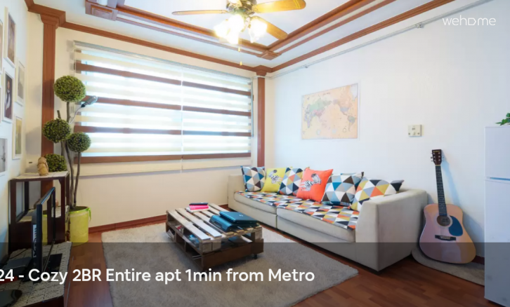 Entire 2BR for 2~6 5min from metro