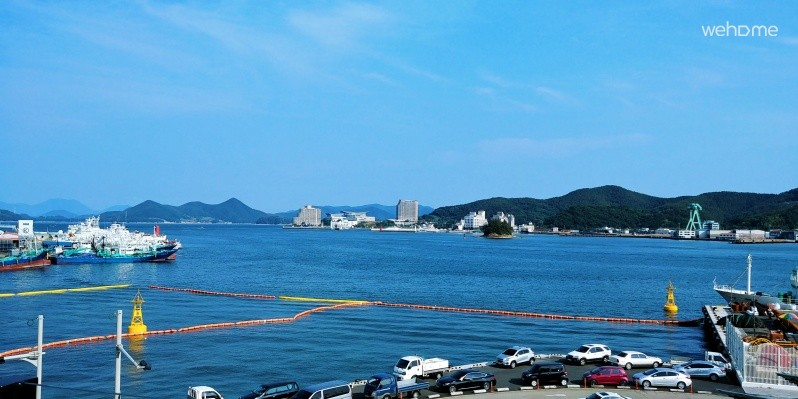 Best location for Tongyeong tourism. Enjoy Tongyeong on foot at any time of the day.