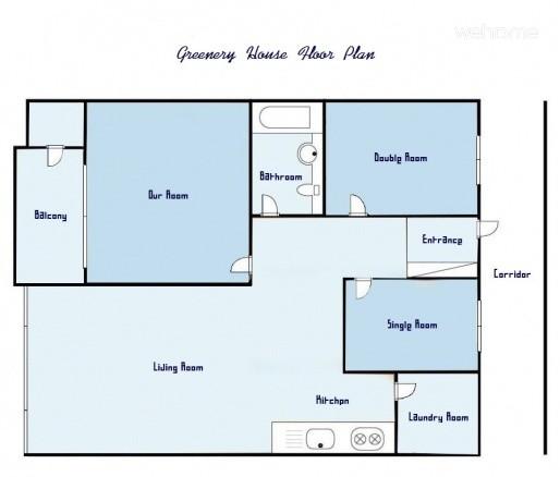 Greenery House(Double Room)