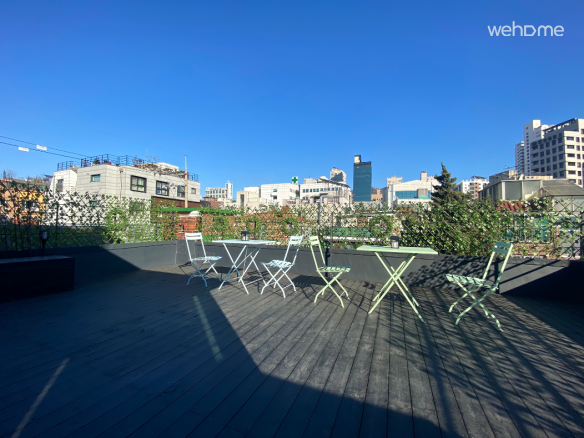 Yeon330: The residence w/ bookcafe & rooftop loung