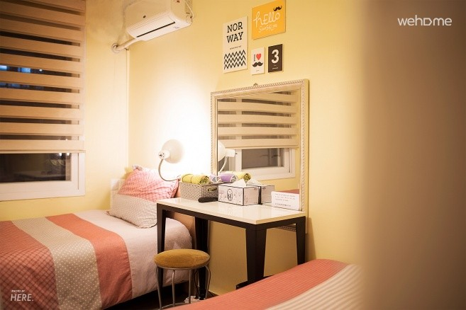 [Corona special price] 쉿, Hongdae style we only know! 3 person room (private bathroom)